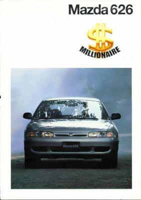 Mazda 626 Millionaire Sedan,hatchback