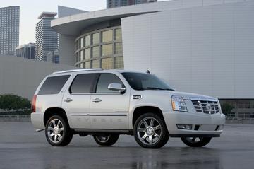 Cadillac Escalade Hybrid in 't land
