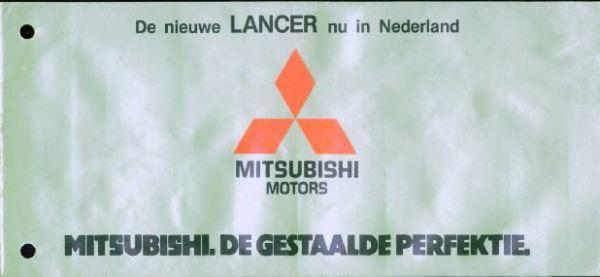 Mitsubishi Lancer,colt,galant,celeste,sapporo El,g