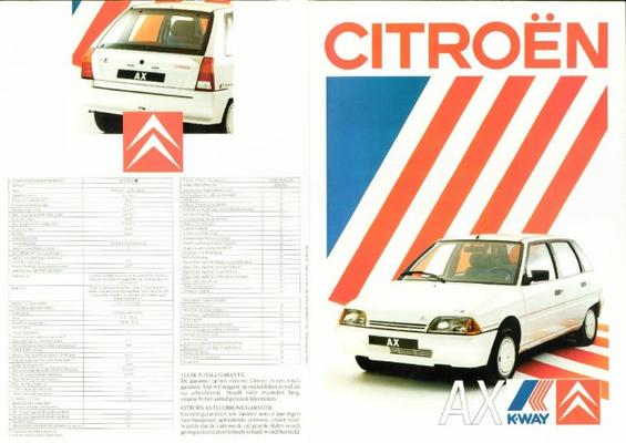 Citroen Ax K-way,ax