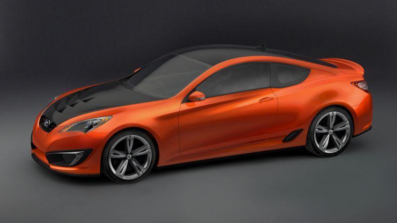 De Hyundai Genesis Coupe Concept