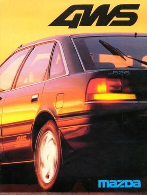 Mazda  626 4ws