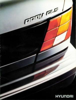 Hyundai Pony Gls,l,gl,sx,slx,sgx,le,gs,gt,gtx