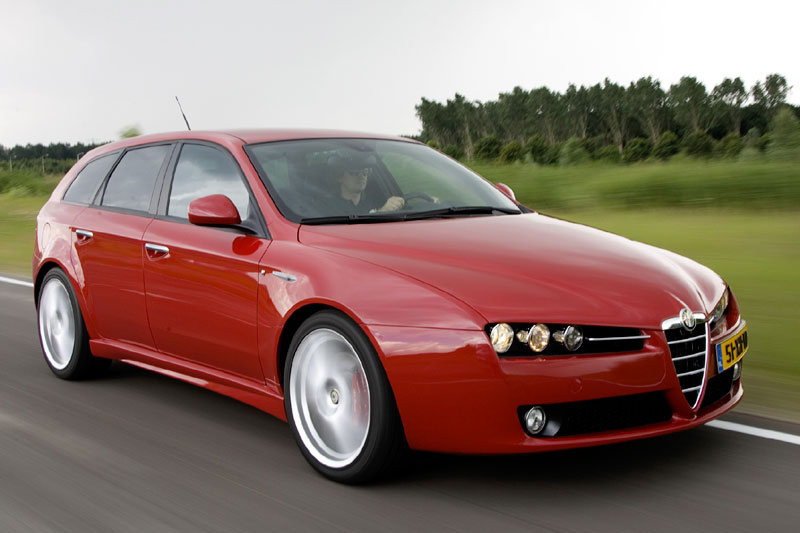 alfa romeo 159 sportwagon 3 2 v6 q4 ti 2007 autotest. Black Bedroom Furniture Sets. Home Design Ideas