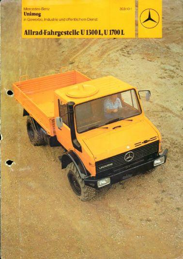 Brochure Mercedes-Benz Unimog (1977) - AutoWeek.nl