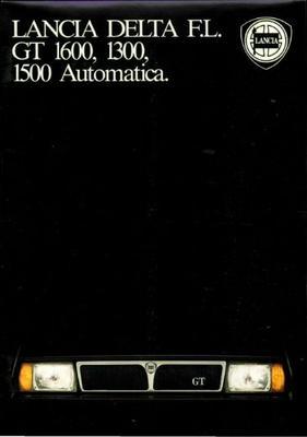 Lancia Delta,automatica Gt1600,1300,1500