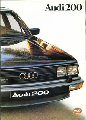 Audi 200 5t,5e