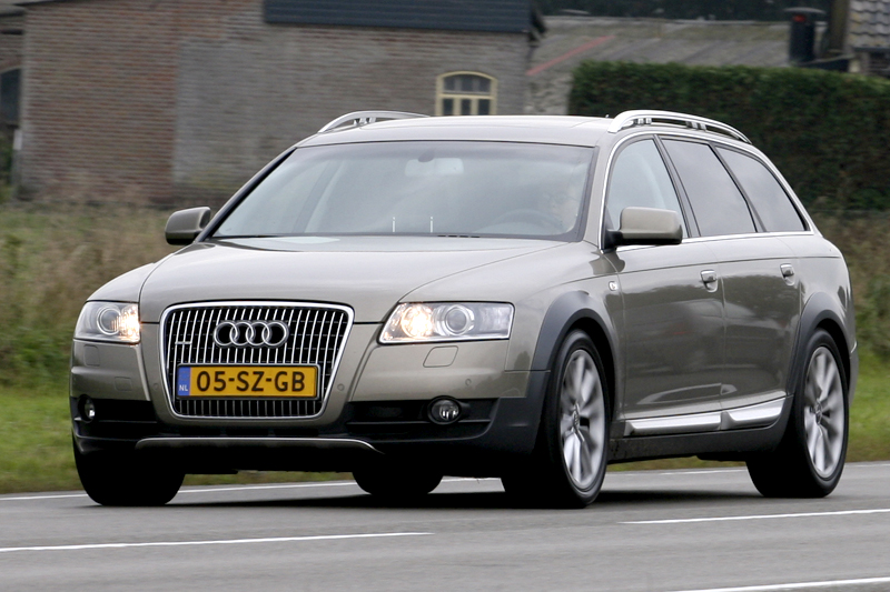 audi a6 allroad quattro 3 0 tdi 2007 autotest. Black Bedroom Furniture Sets. Home Design Ideas