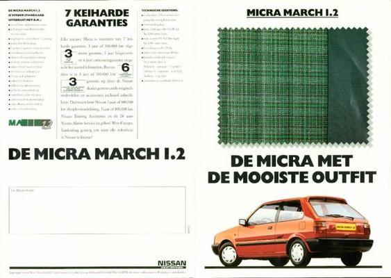 Nissan Micra March 1.2