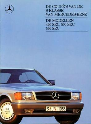 Mercedes-benz 420sec ,500sec,560sec