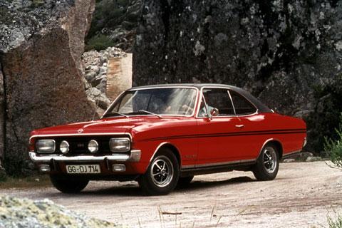 Opel Commodore A, Coupé, GS/E, 1970-1971