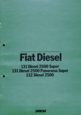Fiat Diesel 131 Diesel 2500 Super,131 Diesel 2500
