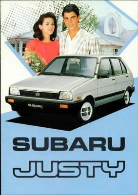 Subaru Justy Gl,sl,dl