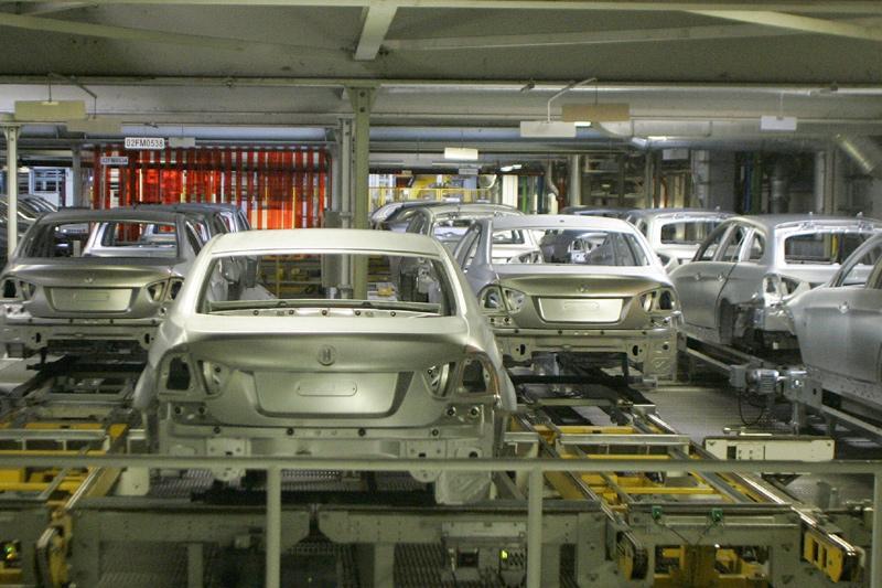 Autofabrieken Europa stilgezet