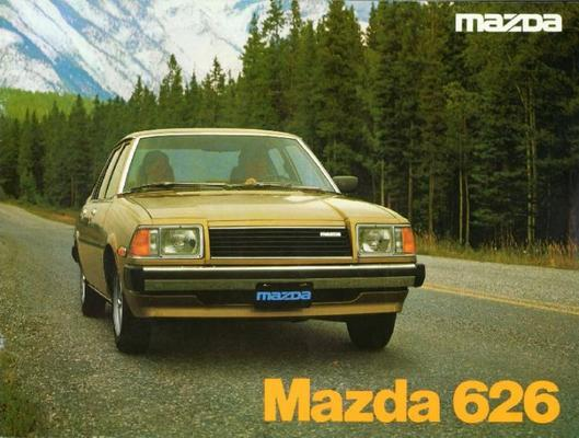 Mazda Sedan,hardtop 626