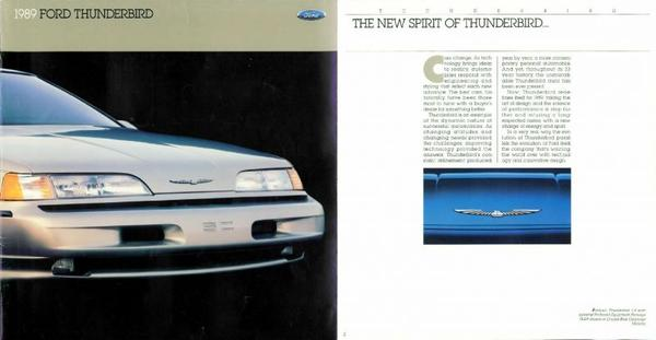Ford Thunderbird Standard, Lx, Super Coupe