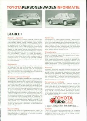 Toyota Starlet Xl,smash,gtsi,diesel