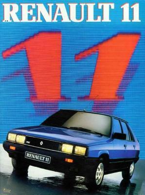 Renault 11 Tse,tc,gtl,tl,tse,gtx