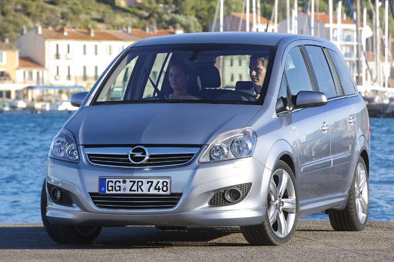 Opel Zafira goedkoper