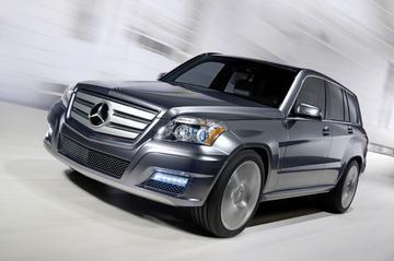 Mercedes GLK als ruige en softe versie