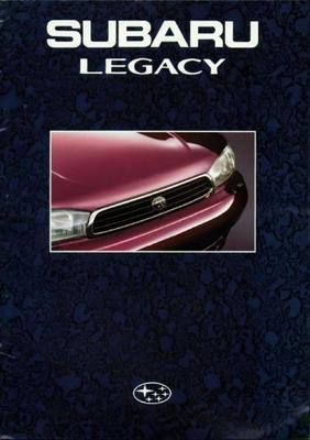 Subaru Legacy Sedan,touring Wagon Gx,lx