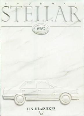 Hyundai Stelllar 2.0gsl,