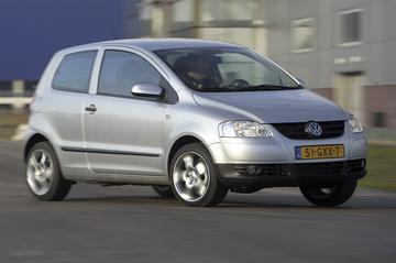 VW Fox verder uitgekleed