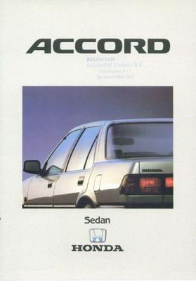 Honda Accord Sedan 1.6, 2.0, 2.0i Luxeex16valb