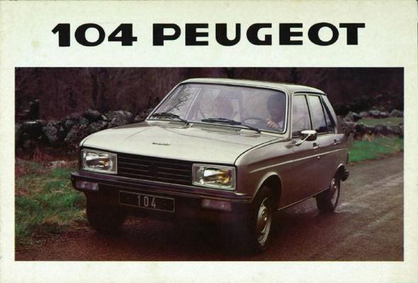 Peugeot  104 Zs,sedan,gl,gl6,sl