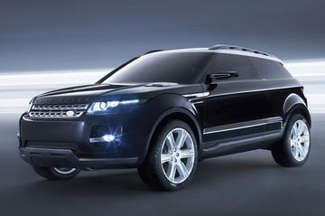 Nu ook in het zwart: Land Rover LRX Concept