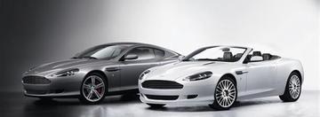 Aston Martin DB9 in het nieuw