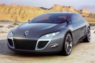Klapstuk: Renault Mégane Coupé Concept