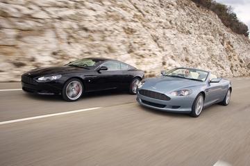 Caparo remmen voor Aston Martin DB9