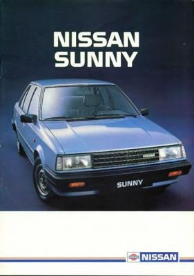 Nissan Sunny Dx,gl,gl Automaat,gl Coupe,stationwag