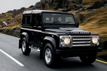 Spartaanse Land Rover Defender op chic