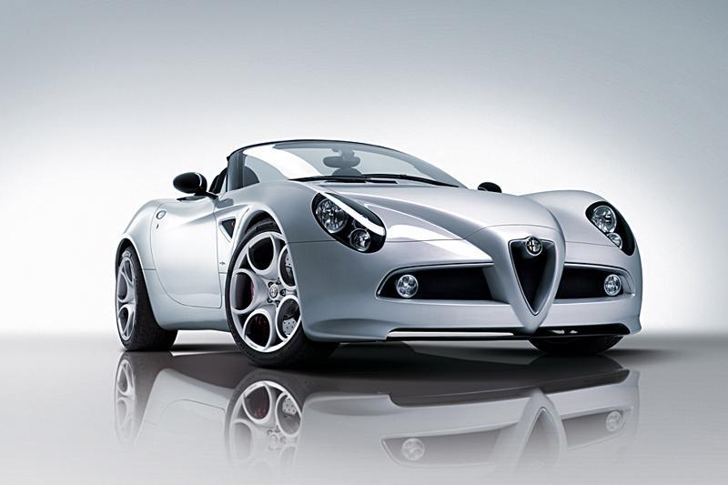 Nu echt: Alfa Romeo 8C Competizione Spider