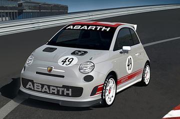 Ultieme 500 Abarth voor racerij