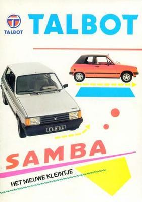 Talbot Samba,samba Cabriolet Ls,gl,gls