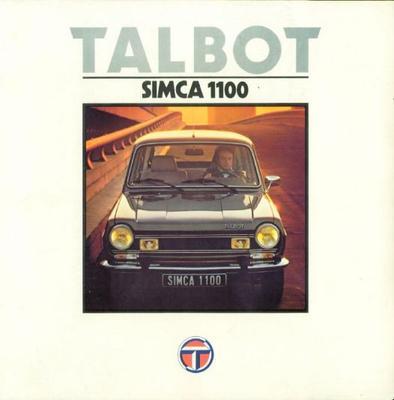 Talbot Simca 1100 Le,gls