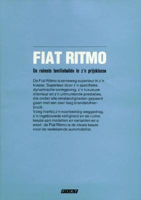 Fiat Ritmo Ritmo Super,es,ritmo Diesel