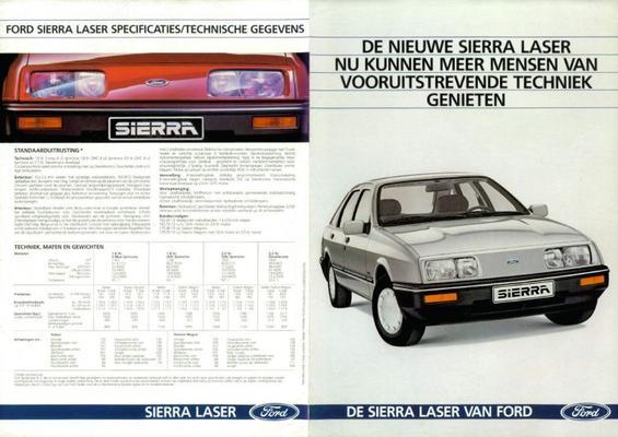 Ford Sierra Laser Standaard