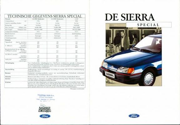 Ford Sierra Special
