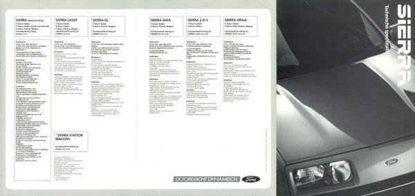 Ford Sierra Basis,laser,gl,ghia,2.0i S,xr4x4