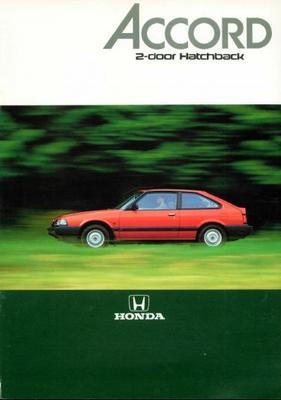 Honda Accord 2-door Hatchback Std, Ex