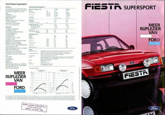 Ford Ford Fiesta Supersport