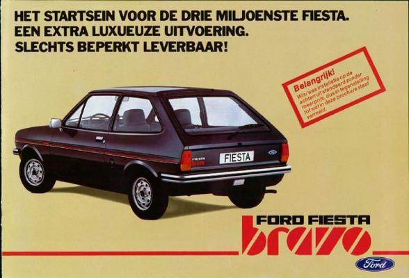 Ford Ford Fiesta Bravo
