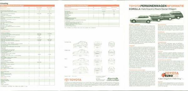 Toyota Corolla Hb,sdn.lb,wg,1.3i,wagon,linea