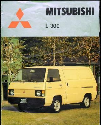 Mitsubishi  L300,chassis-cabine,gels Bestelwagen