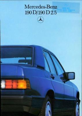 Mercedes-benz 190 D,d 2.5