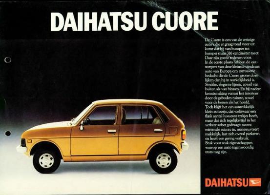 Daihatsu Cuore De Luxe